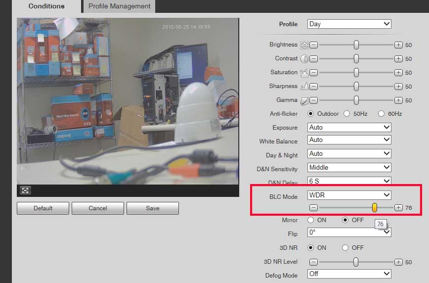 Optimizing your eLine 4K IP Camera