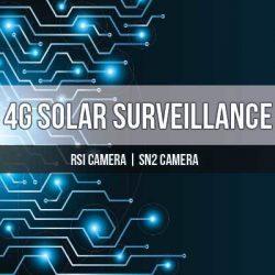 4G Solar Surveillance Cameras
