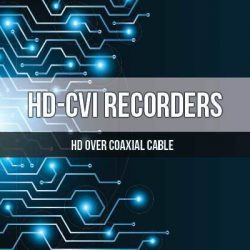 HDCVI DVR Recorders