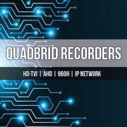 HDTVI Quadbrid DVRs