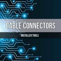 Cable Connectors for CCTV Video Audio