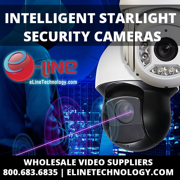 Intelligent Starlight Security Cameras