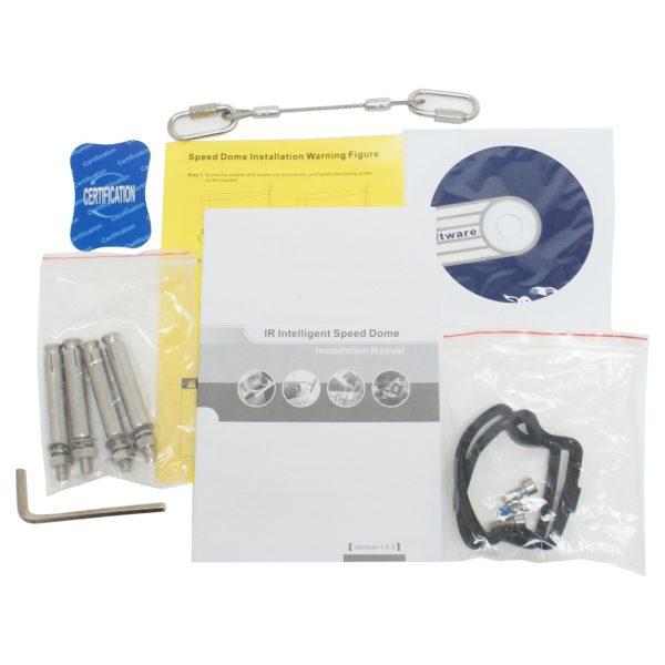 ELI-IP5-APTZ21S-30XR -cables - box-contents